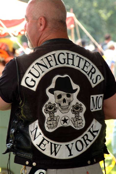 NY Gunfighters-CENTURIAN MC | Thats a cool patch! NY cops