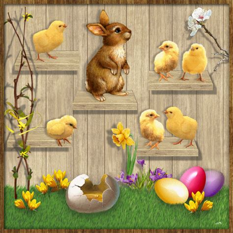 Gif_Paradise: HAPPY EASTER GIFS