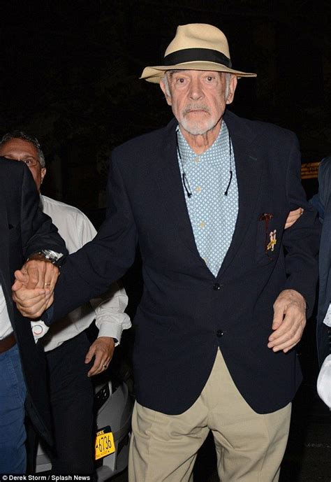 Sean Connery makes a rare public appearance at the US Open