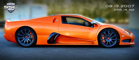 SSC Ultimate Aero Becomes Fastest Production Car In The