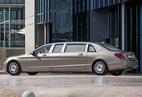 2016 Mercedes-Maybach S 600 Pullman - specifications