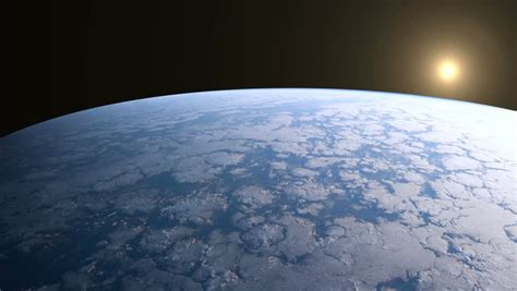 Earth Orbit View from Iss Stock Footage Video (100%